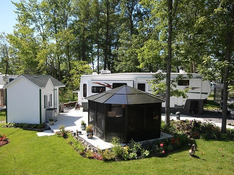 Camping La Clé des champs - Complexe VR