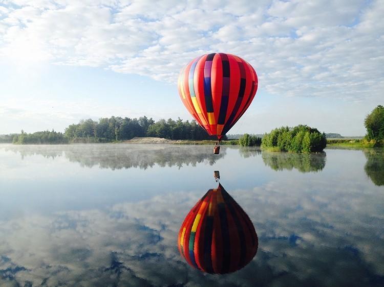 Balad'Air, Envolée en Montgolfières