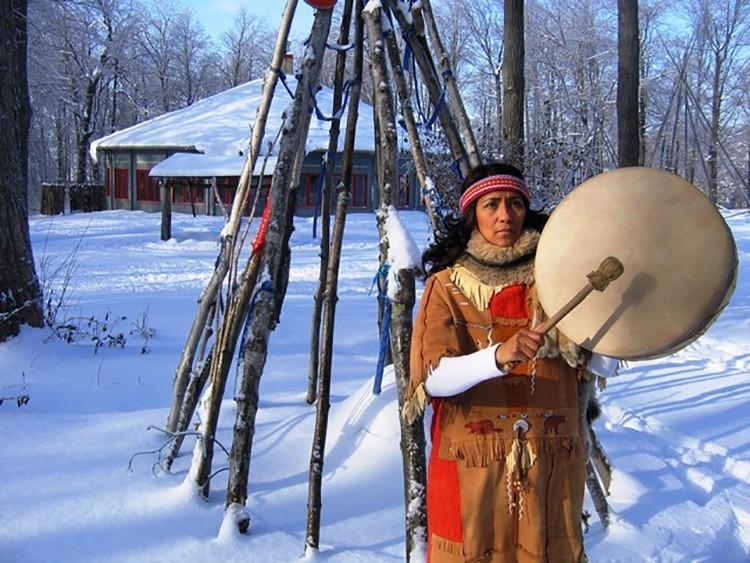 La Maison amérindienne de l'érable